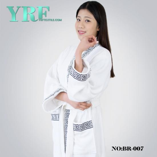 66a08d019f Women S Full Length Shawl Collar Velour Bathrobe Soft Fleece Bath ...