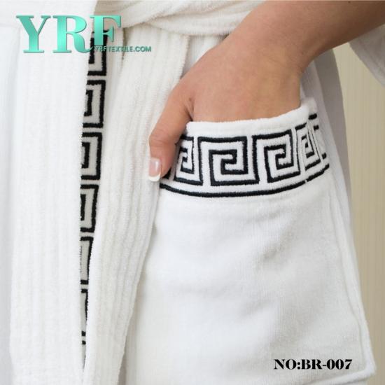 a3dd78cd19 Women S Full Length Shawl Collar Velour Bathrobe Soft Fleece Bath Robe Spa  Robe 100% Cotton Bath Robes Plus Sizes